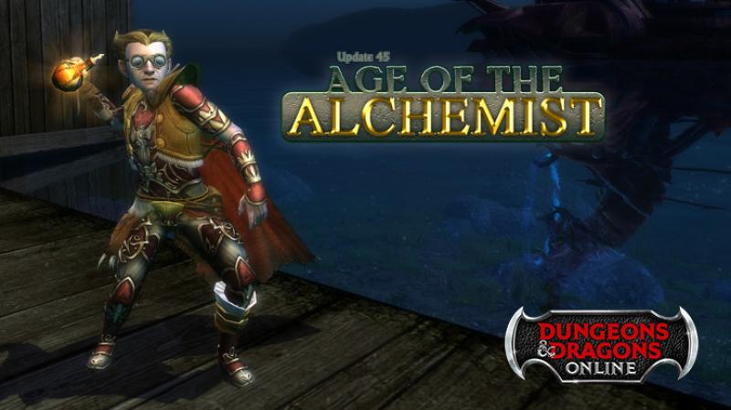 Dungeons & Dragons Online Update 45 introduces new Alchemist class