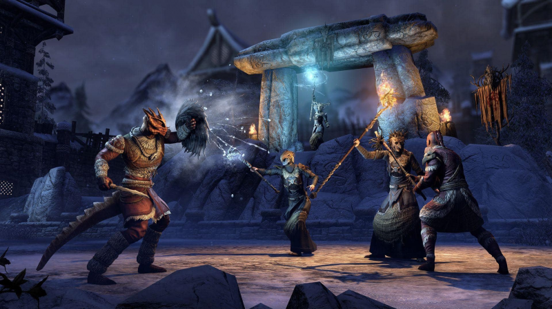 The Elder Scrolls Online Update 25 and Harrowstorm DLC now available
