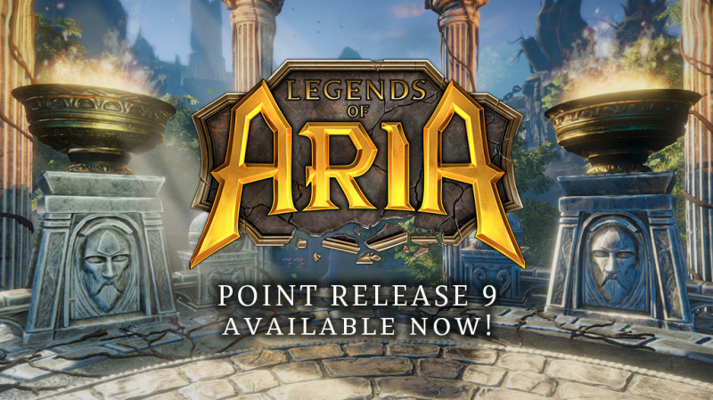 Legends of Aria Point Release 9 release