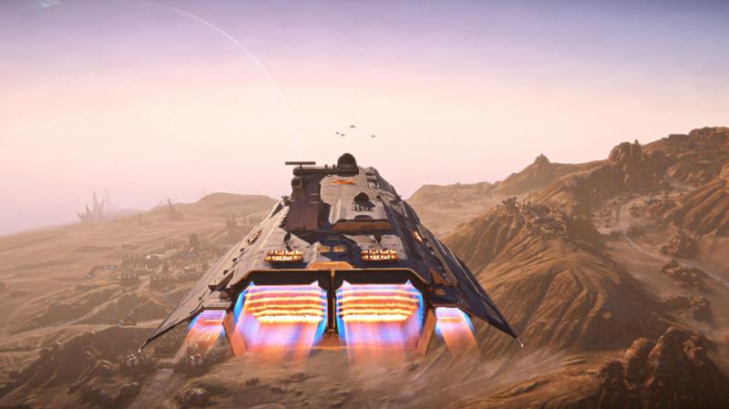 PlanetSide 2 Escalation update introduces the Bastion Fleet Carrier